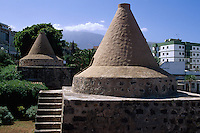 Spanien, Kanarische Inseln, Teneriffa, alter Kalkofen in Puerto de la Cruz