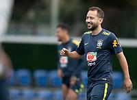 12th November 2020; Granja Comary, Teresopolis, Rio de Janeiro, Brazil; Qatar 2022 World Cup qualifiers; Everton Ribeiro of Brazil during training session