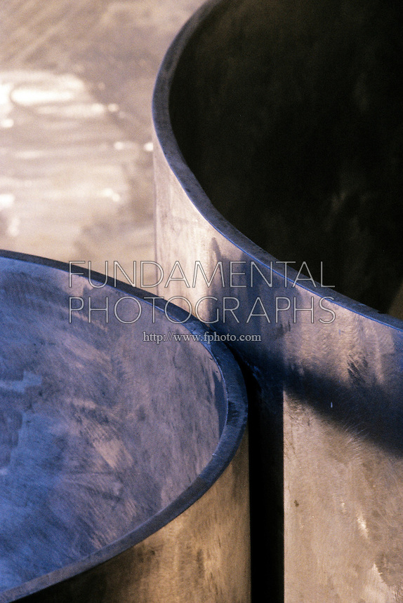 BRUSHED STEEL ABSTRACTS