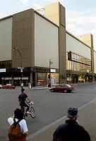 le FORUM de Montreal,  abandonnee, juin 1997<br /> <br />  - PHOTO D'ARCHIVE :  Agence Quebec Presse