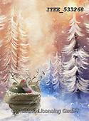 Isabella, CHRISTMAS LANDSCAPES, WEIHNACHTEN WINTERLANDSCHAFTEN, NAVIDAD PAISAJES DE INVIERNO, paintings+++++,ITKE533268,#xl#