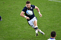 Ali Price of Scotland kicks during the rugby Autumn Nations Cup's match between Italy and Scotland at Stadio Artemio Franchi on November 14, 2020 in Florence, Italy. Photo Andrea Staccioli / Insidefoto <br /> <br /> xxx