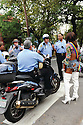 Transgender woman talks to police at Gay Easter Parade, 2013