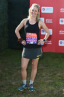 Sophie Raworth<br /> at the start of the 2018 London Marathon, Greenwich, London<br /> <br /> ©Ash Knotek  D3397  22/04/2018