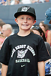 "A young fan in his new gear as the Aces are transformed into the Reno Ghost Riders for the ""What Could Have Been Weekend"" series against the Salt Lake Bees on Thursday night July 12, 2012 at Aces Ballpark in Reno, NV."
