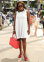NEW YORK CITY, NY, USA - SEPTEMBER 03: Star Jones arrives at the 8th Annual Fashion Award Honoring Carolina Herrera held at the David H. Koch Theater at Lincoln Center on September 3, 2014 in New York City, New York, United States. (Photo by Jeffery Duran/Celebrity Monitor)