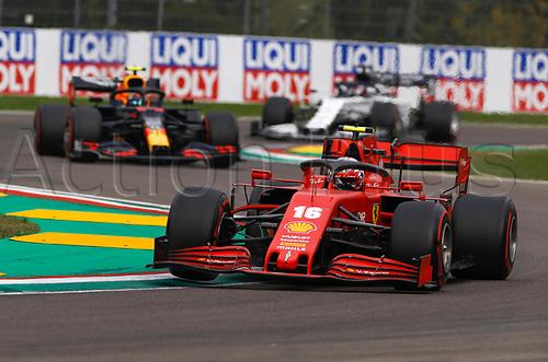 1st November 2020, Imola, Italy; FIA Formula 1 Grand Prix Emilia Romagna, Race Day; 16 Charles Leclerc MCO, Scuderia Ferrari Mission Winnow