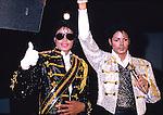 Michael Jackson 1985 at Madame Tussauds.© Chris Walter.