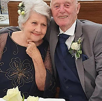 BNPS.co.uk (01202 558833)<br /> Pic: TheresaCoffin/BNPS<br /> <br /> Two octogenarians have tied the knot after their relatives hooked them up using an online dating app.<br /> <br /> Euan Coffin, 84, and Freda Clark, 81, both suffered bouts of loneliness after their long-term spouses died.<br /> <br /> Euan's daughter Theresa Vincent set him up with his own profile on the dating website Silver Surfers which is aimed at single people aged 50 and over.<br /> <br /> Not long after, Freda's granddaughter Holly did the same for her and she was inundated with friendship requests from older men.