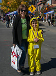 Sandy and 8-year old Dominic during Pumpkin Palooza on Sunday Oct. 21, 2018 in Sparks, Nevada.