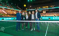 Rotterdam, The Netherlands, 16 Februari 2020, ABNAMRO World Tennis Tournament, Ahoy,<br /> Team<br /> Photo: www.tennisimages.com