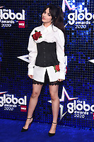 Camila Cabello<br /> arriving for the Global Awards 2020 at the Eventim Apollo Hammersmith, London.<br /> <br /> ©Ash Knotek  D3559 05/03/2020