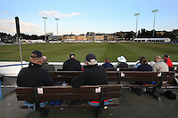 General view of play at the Ford County Ground - Essex Eagles vs Yorkshire Carnegie - Clydesdale Bank 40 Cricket at the Ford County Ground, Chelmsford -  25/04/10 - MANDATORY CREDIT: Gavin Ellis/TGSPHOTO - Self billing applies where appropriate - Tel: 0845 094 6026