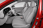 Front seat view of 2021 Hyundai Elantra SEL 4 Door Sedan Front Seat  car photos