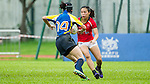 Hong Kong plays Kazakhstan during the HKRFU A4N 2014 on May 18, 2014 at the Aberdeen Sport Ground in Hong Kong, China. Photo by Chung Yan / Power Sport Images