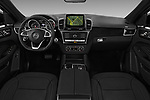 Stock photo of straight dashboard view of 2016 Mercedes Benz GLE-Class-Coupe GLE450-AMG 5 Door SUV Dashboard