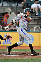 Aberdeen Ironbirds outfielder Jeremy Nowak (37) during game against the Brooklyn Cyclones at MCU Park in Brooklyn, NY June 21, 2010. Cyclones won 5-2.  Photo By Tomasso DeRosa/Four Seam Images
