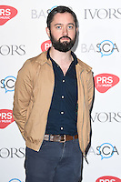 Connor O'Brien<br /> arrives for the 2016 Ivor Novello Awards at the Grosvenor House Hotel, London.<br /> <br /> <br /> ©Ash Knotek  D3121  19/05/2016
