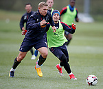 Martyn Waghorn and Barrie McKay