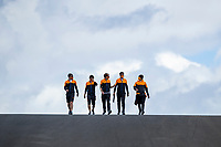 29th April 2021; Algarve International Circuit, in Portimao, Portugal; F1 Grand Prix of Portugal, driver and team arrival and inspection day;  NORRIS Lando (gbr), McLaren MCL35Ml -