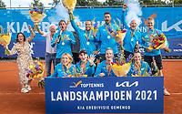 Netherlands, September 12,  2021, Naaldwijk KIA Competition mixed, premier league, LTC Naaldwijk vs TC Leimonias, final: winners team Naaldwijk.<br /> Photo: Henk Koster/tennisimages.com