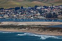 aerial photograph of Morro Bay, San Luis Obispo County, California