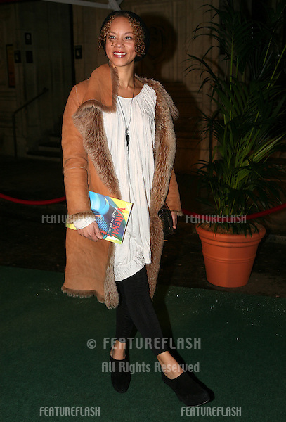 Angela Griffin arriving  at Cirque du Soleil's Varekai gala opening night at the Royal Albert Hall, London.  05/01/2010.  Picture by: Alexandra Glen / Featureflash