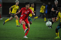 20190301 - LARNACA , CYPRUS : North Korean midfielder Kim Yun-mi pictured during a women's soccer game between South Africa and Korea DPR , on Friday 1 March 2019 at the AEK Arena in Larnaca , Cyprus . This is the second game in group A for Both teams during the Cyprus Womens Cup 2019 , a prestigious women soccer tournament as a preparation on the Uefa Women's Euro 2021 qualification duels. PHOTO SPORTPIX.BE   STIJN AUDOOREN