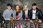 Robin O'Callaghan from Tralee celebrating her birthday in Benners Hotel on Saturday<br /> L to r: Craig Teahan, Robin O'Callaghan, Chloe Dooley. and Jordan Luke