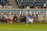 Chicago, IL - Saturday Sept. 24, 2016: Christen Press during a regular season National Women's Soccer League (NWSL) match between the Chicago Red Stars and the Washington Spirit at Toyota Park.