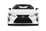 Car photography straight front view of a 2018 Lexus LC 500 Sport Plus 2 Door Coupe