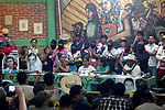 The National Indigenous Congress (CNI) presents her spokewoman Maria de Jesus Patricio as candidate for the presidency of Mexico during the Constitutive Assembly of the Indigenous Government Council in San Cristobal de las Casas, in the southern state of Chiapas, May 28, 2017. Photo by Heriberto Rodriguez