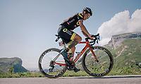Sylvain Chavanel (FRA/Direct Energie) up the Comet de Roselend<br /> <br /> Stage 11: Albertville > La Rosière / Espace San Bernardo (108km)<br /> <br /> 105th Tour de France 2018<br /> ©kramon