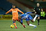 09.02.2019: Kilmarnock v Rangers : Jermain Defoe and Youssouf Mulumbu