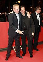 Christophe Lambert, Laurent Gerra - Avant-première du film 'Chacun sa vie' à Paris, le 13/03/2017.