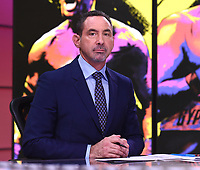 """LOS ANGELES - JANUARY 25: Mark Kriegel during the Los Angeles press conference on January 25, 2020 for the """"Wilder vs Fury II"""" FOX SPORTS PPV & ESPN+ PPV which will take place on Feb. 22 from the MGM Grand Garden Arena in Las Vegas. (Photo by Frank Micelotta/Fox Sports/PictureGroup)"""