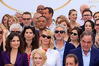 PEDRO ALMODOVAR, WILL SMITH, AGNES JAOUI, MAÏWEEN, ALFONSO CUARON, JULIETTE BINOCHE, UMA THURMAN, OLIVER STONE - PHOTOCALL DES PERSONNALITES AU 70EME ANNIVERSAIRE DU FESTIVAL DU FILM CANNES