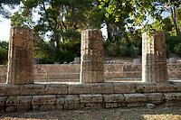 Resti archeologici  Colonne in ordine Dorico Patrimonio Unesco