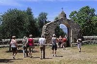 Chapelle Sainte-Restidude in  Calenzana in der Balagne, Korsika, Frankreich