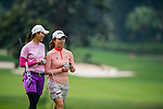 Players in action during the Hyundai China Ladies Open 2014 practice day on December 11 2014, in Shenzhen, China. Photo by Li Man Yuen / Power Sport Images