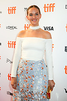 JESS WEIXLER - RED CARPET OF THE FILM 'MOLLY'S GAME' - 42ND TORONTO INTERNATIONAL FILM FESTIVAL 2017 . TORONTO, CANADA, 09/09/2017. # FESTIVAL DU FILM DE TORONTO - RED CARPET 'MOLLY'S GAME'