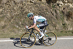 Lennard Kamna (GER) Bora-Hansgrohe attacks during Stage 4 of the 100th edition of the Volta Ciclista a Catalunya 2021, running 166.5km from Ripoll to Port Aine, Spain. 25th March 2021.   <br /> Picture: Bora-Hansgrohe/Luis Angel Gomez/BettiniPhoto | Cyclefile<br /> <br /> All photos usage must carry mandatory copyright credit (© Cyclefile | Bora-Hansgrohe/Luis Angel Gomez/BettiniPhoto)