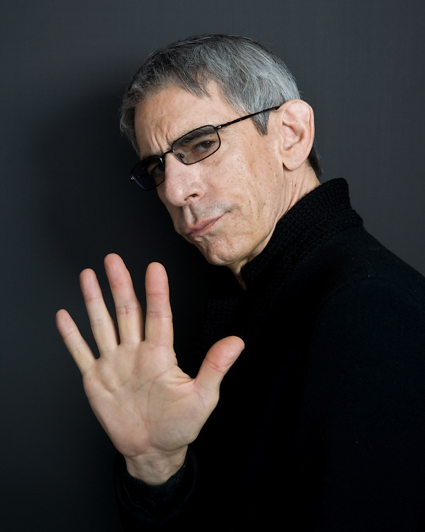 """Richard Belzer photographed for the Creative Coalition """"It Starts with the Arts"""" Project"""
