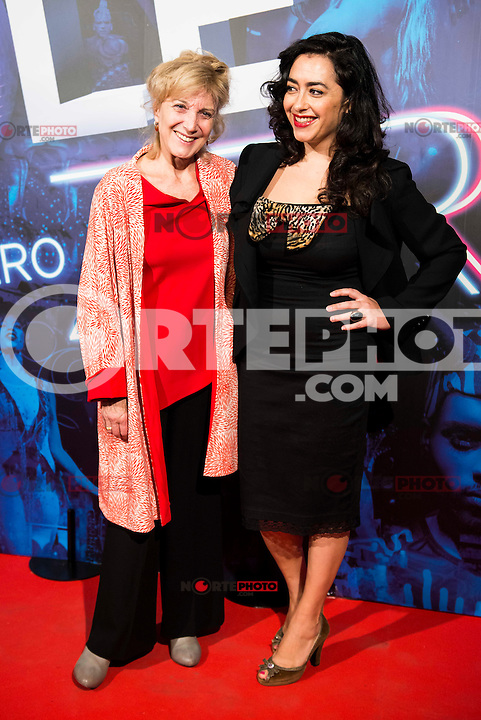 Marisa Paredes and Maria Isasi attends to the premiere of the The Hole Zero Show at Teatro Calderon in Madrid. October 04, 2016. (ALTERPHOTOS/Borja B.Hojas) ** NORTEPHOTO.COM