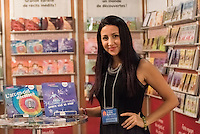 Lynda Thalie at montreal book fair, November 2015,<br /> <br /> <br /> PHOTO : Pierre Roussel -