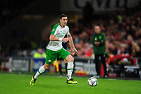 Stephen Ward of Republic of Ireland during the UEFA Nations League B match between Wales and Ireland at Cardiff City Stadium in Cardiff, Wales, UK.September 6, 2018
