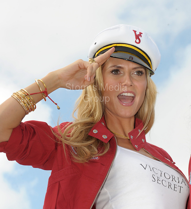 """SMG_Heidi Klum_Split_012212_37.JPG<br /> <br /> FILE PHOTOS - Orig Pix Taken - on November 14, 2008 in Miami Beach, Florida  <br /> <br /> MIAMI BEACH, FL - JANUARY 22:  Heidi Klum will file for divorce from Seal ... TMZ has learned. Sources with direct knowledge tell TMZ ... Heidi will file divorce papers in L.A. County Superior Court as early as next week. We're told Heidi will cite """"irreconcilable differences"""" as the cause for the divorce. The couple married May 10, 2005. They have 3 biological kids. Seal adopted Heidi's eldest girl from a prior relationship. The couple is famous for renewing their vows every year on their anniversary ... in a lavish ceremony. As for splitting up the goodies, there's a lot on the line. According to Forbes, in the last year alone, Klum raked in $20 million. It's unclear how much Seal made.Heidi attended last Sunday's Golden Globes without Seal. The last photo she tweeted with him was back on December 26. The last time TMZ filmed Seal and Heidi together, we asked her what the key to a successful marriage is. She didn't answer the question.  on January 22, 2012 in Miami Beach, Florida  (Photo By Storms Media Group)   <br /> <br /> People:  Heidi Klum<br /> <br /> Transmission Ref:  SMG_Heidi Klum_Boat_111408_08<br /> <br /> Must call if interested<br /> Michael Storms<br /> Storms Media Group Inc.<br /> 305-632-3400 - Cell<br /> 305-513-5783 - Fax<br /> MikeStorm@aol.com"""