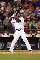 May 19, 2010: Seattle Mariners' Milton Bradley (15) at-bat during a game against the Toronto Blue Jays at Safeco Field in Seattle, Washington.