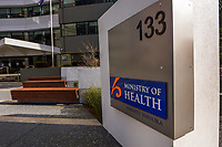 The Ministry of Heath, Thorndon, during Level 4 lockdown for the COVID-19 pandemic in Wellington, New Zealand on Monday, 30 August 2021.