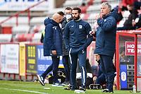 Barrow AFC Manager Rob Kelly during Stevenage vs Barrow, Sky Bet EFL League 2 Football at the Lamex Stadium on 27th March 2021